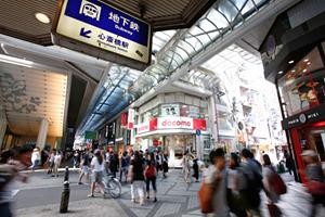 S&Eシステムズは大阪の中心街、心斎橋にオフィスを構えています。